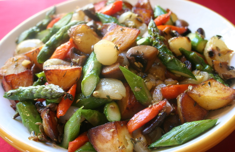 "What Did You Eat?: ""Quintessential"" Roasted Vegetables"