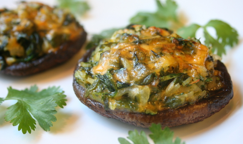 Stuffed Portobello Mushrooms Recipe — Dishmaps