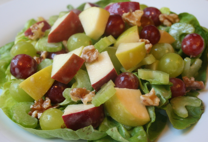 What Did You Eat?: Light Waldorf Salad