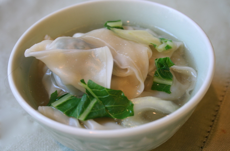 What Did You Eat?: PPN: Turkey And Bok Choy Wonton Soup