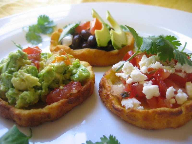 love Sopes (Masa Boats) ! They taste great and are lots of fun ...